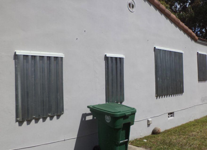Aluminum Storm Panels